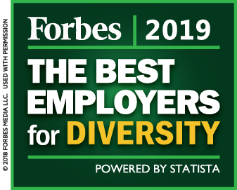 Forbes 2019: The Best Employers for Diversity