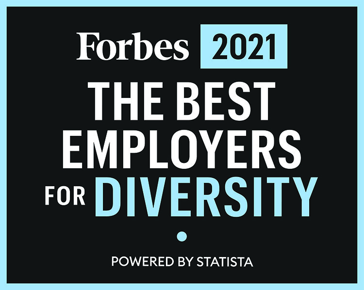 Forbes 2021 The Best Employers for Diversity Powered by Statista