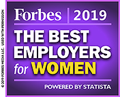 Forbes 2019: The Best Employers for Women