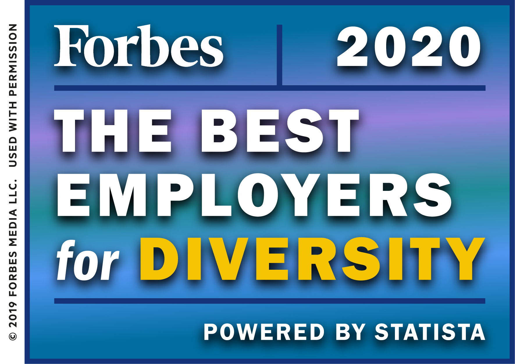 Forbes 2020: The Best Employers for Diversity